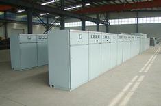 伊诺尔电气电阻柜生产车间